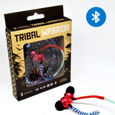 Tribal warrior – blue/red/turquoise