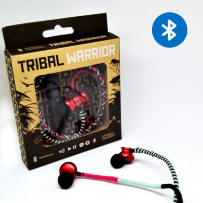 Tribal warrior – pink/turquoise/black