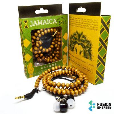 Jamaica bracelet earphones