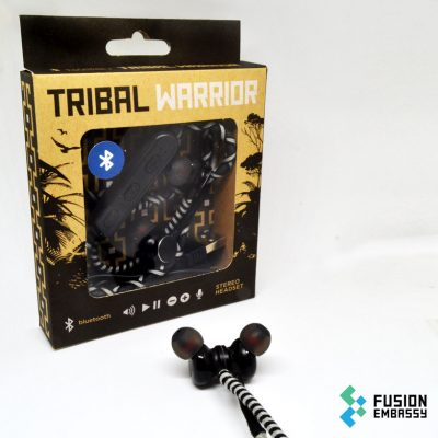 Tribal warrior – grey / black
