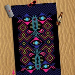 """XXL Beach towel – """"Big Fish"""""""